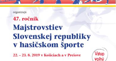 47. ročník Majstrovstiev Slovenskej republiky v hasičskom športe